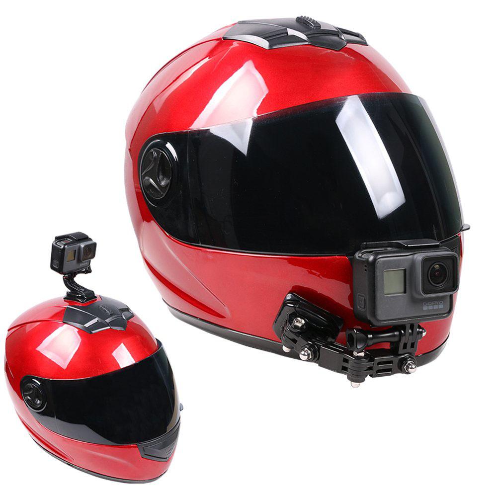 support caméra casque moto